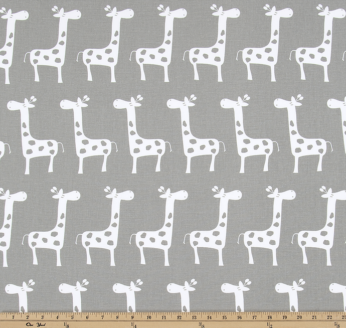 Stretch Storm White Fabric By Premier Prints