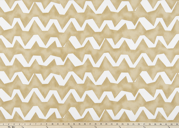 Strike Camel Fabric By Premier Prints