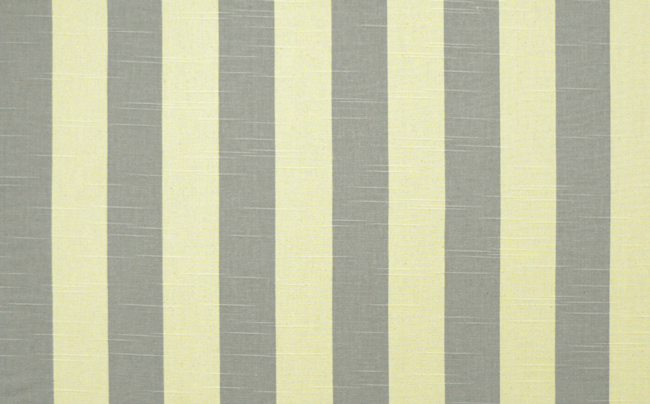 Stripe Coastal Gray Natural Slub