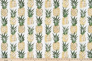 picture of pineapple cotton fabric made by premier prints