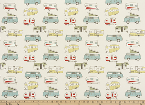 Picture of Vintage Camper Formica Macon Fabric