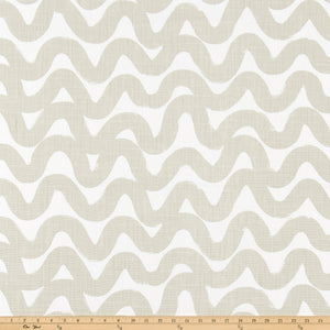 Wavy Fog Slub Linen Fabric By Premier Prints