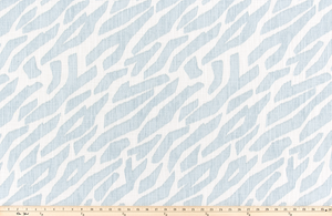Zany Mineral Blue Slub Canvas Fabric By Premier Prints