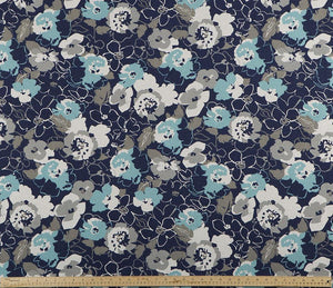 product image of flower floral pattern printed on property brothers fabric