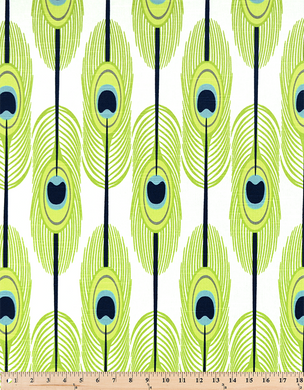 Picture of Feathers Canal Slub Fabric