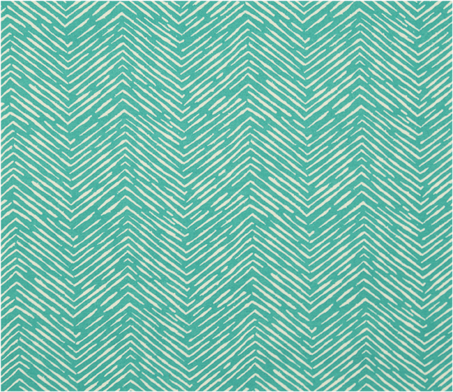 Picture of herringbone Outdoor Fabric - Cameron Ocean Fabric By Premier Prints