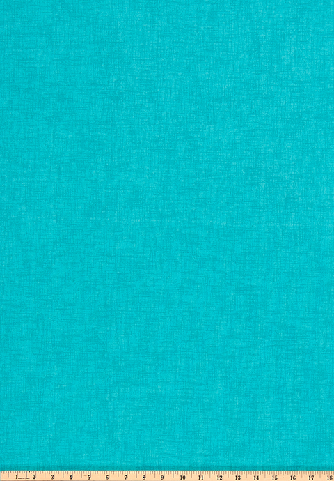 Aqua Ocean Blue Textured Solid Printed Fabric