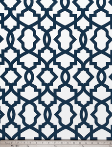 Sheffield Premier Navy Fabric By Premier Prints