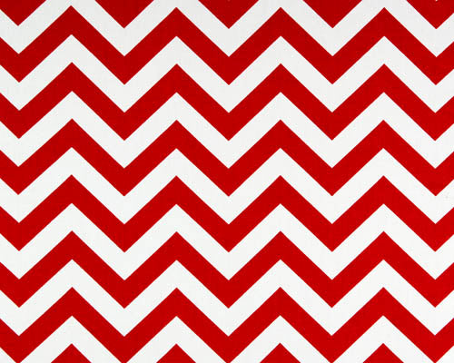 Photo of Red Chevron Zig Zag Pattern Fabric
