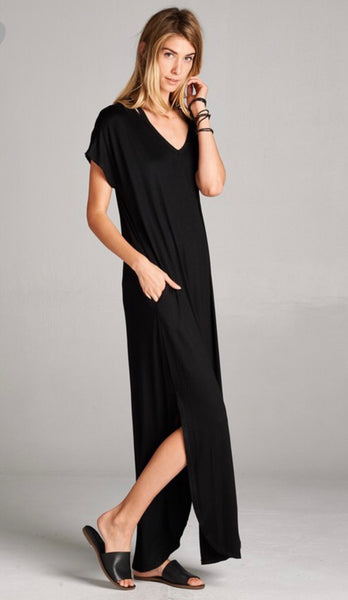 Solid Maxi - Black