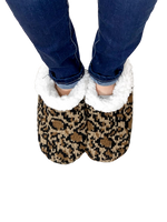 Cozy Cheetah Slippers