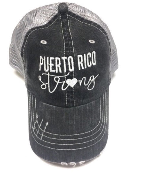 Puerto Rico Strong hat