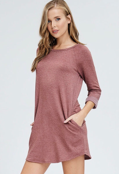 Mocha Sweater Dress