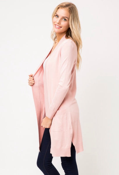 The Elegance Cardigan - Pink