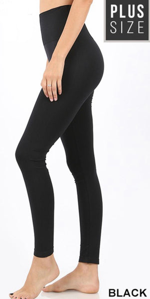Curvy Tummy Control Leggings