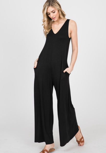 Remember Me Black Jumpsuit