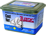 "Betts Tyzac Nylon Cast Net, 6', Boxed, 1/4"", Mesh, 3/4Lb Iron Weights per Ft"