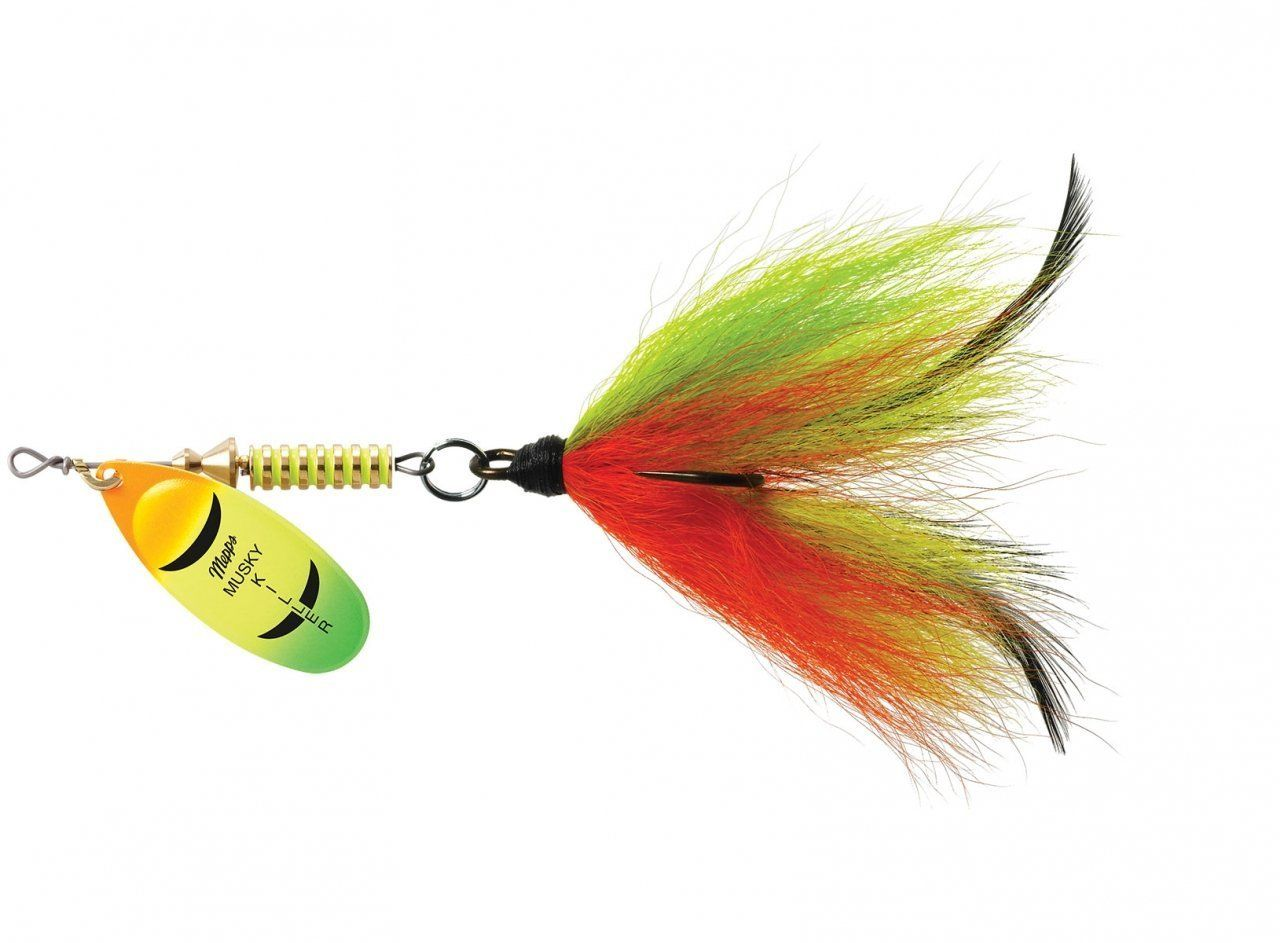 10-3//4 oz crappie bass pike walleye spinner fishing lure set baits rigs 4680