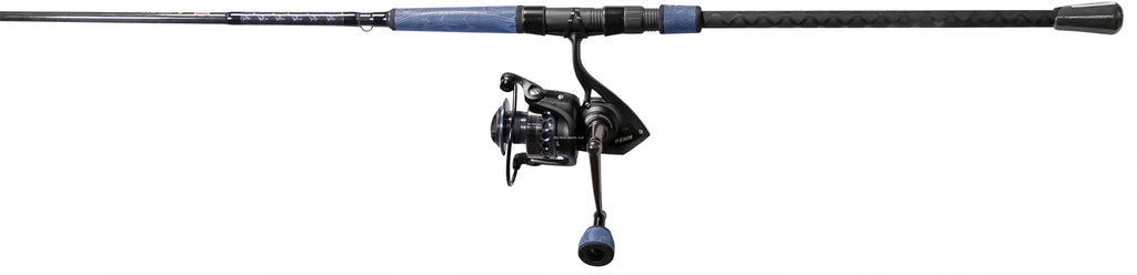 Penn BTLIIB5000802MH Battle Blue Surf CBO Combo. 5000 sz reel 8' 2pc MH Rod