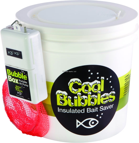 Marine Metal Cool Bubbles 8 Qt Insulated Plastic Pail