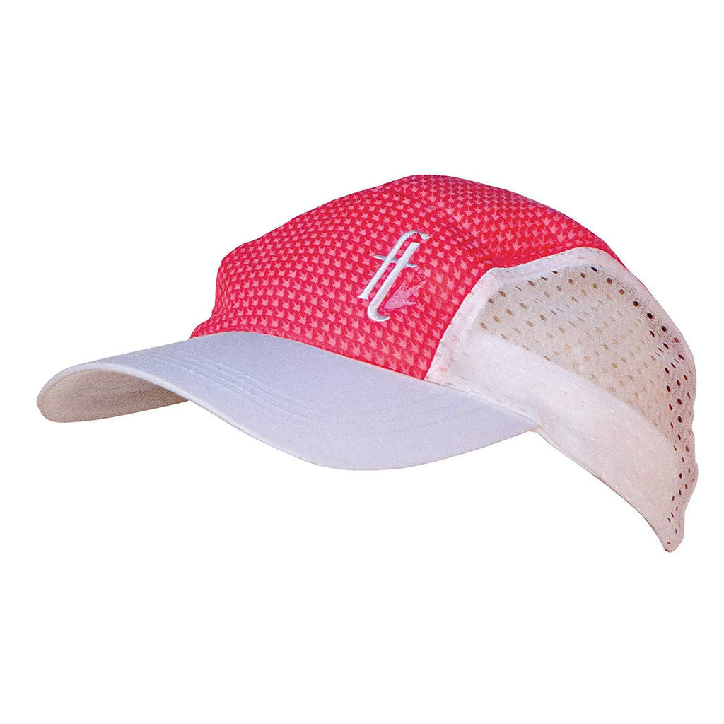 Frogg Toggs Chilly Bean Cooling Cap CBC300-311 [White/Pink,One Size]