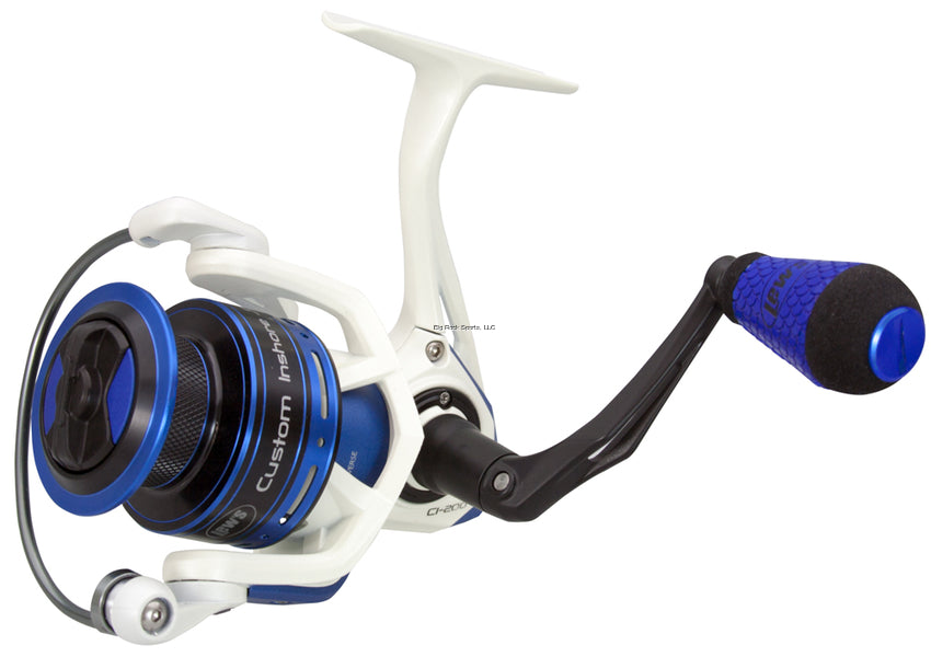 Lew's CI200 Custom Inshore Speed Spin Spinning Reel, 6.2:1, 8lb/160yds, 20lbs