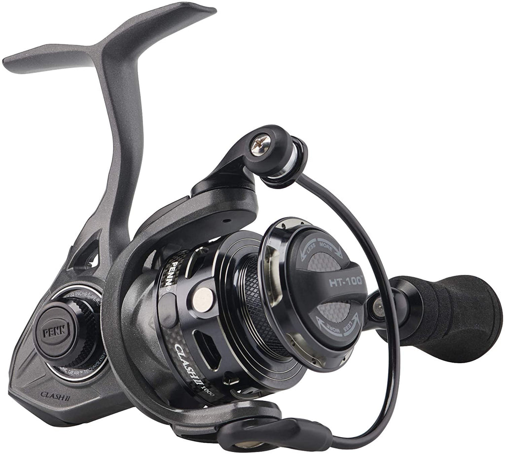 PENN Clash II Spinning Fishing Reel, Front Drag (Choose Size)