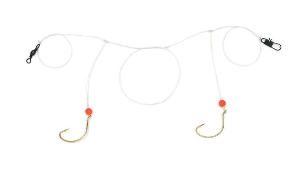 Sea Striker Pompano Rig #4 Wide Gap Hooks