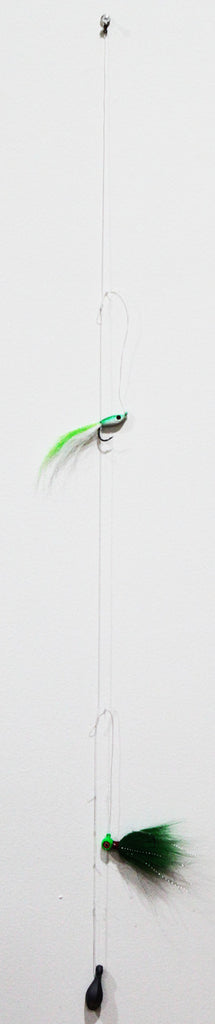 JW Buckeye Fluke Candy Hi-Lo Rig 1/2oz (Choose Color)