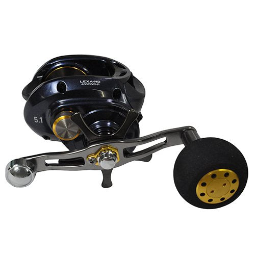 Daiwa Lexa-HD High Speed Baitcasting Reel RH 6+1/7.1:1 LEXA-HD400HS-P