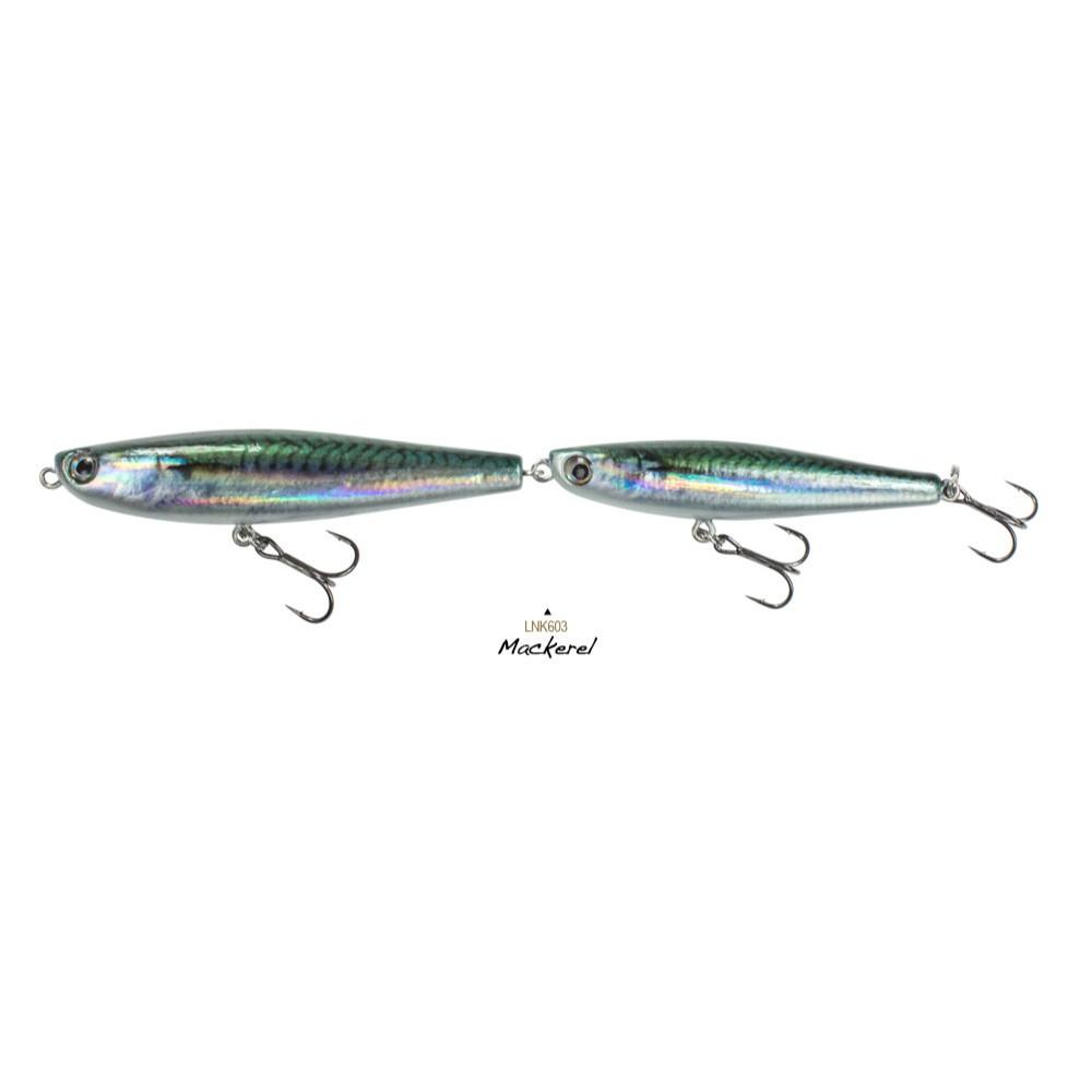 "Lunkerhunt LNK603 Link Floating Stick Bait 6 3/4"" 5/8oz Mackerel Lure"