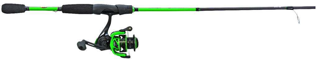 Lew's MS3066M Mach Speed Spin Spinning Combo, Rev Handle, No Line