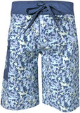 Calcutta Performance Board Short w/OSM Technology OCean Camo Sz 30