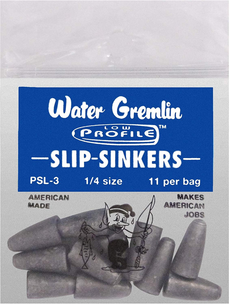 Water Gremlin Worm Weight 3/16oz 12Pc