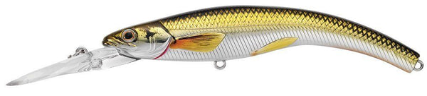 "Live Target Koppers RS Banana Bait RS  3 5/8""DD Gold Black Lure RSB91D208"