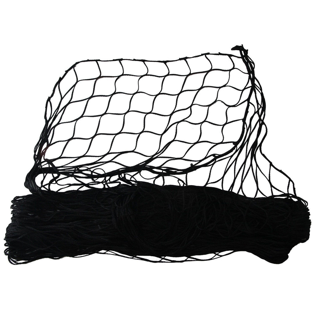"Cumings S-B-12-B Replacement Net 38""x33"" Super HD Black Poly"