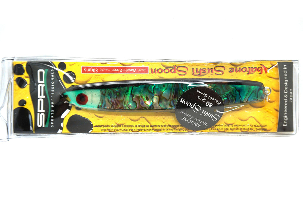 Spro Abalone Sushi Spoon Lure