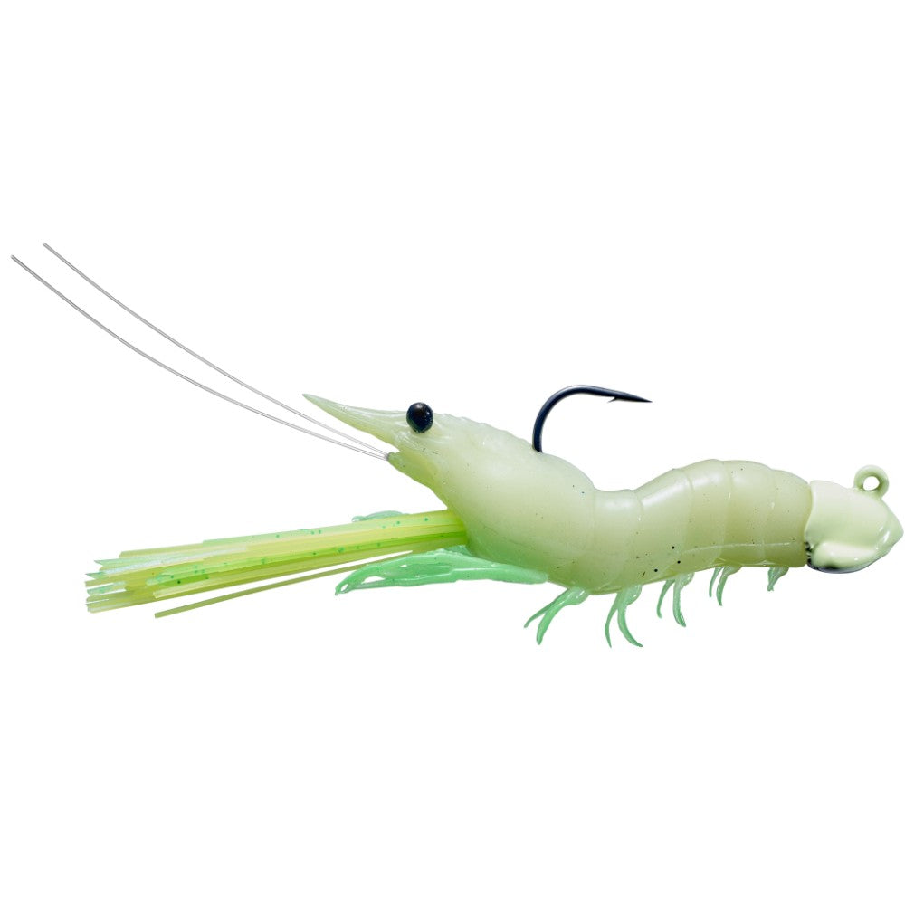 Live Target SSJ Fleeing Shrimp Soft Plastic Jigs