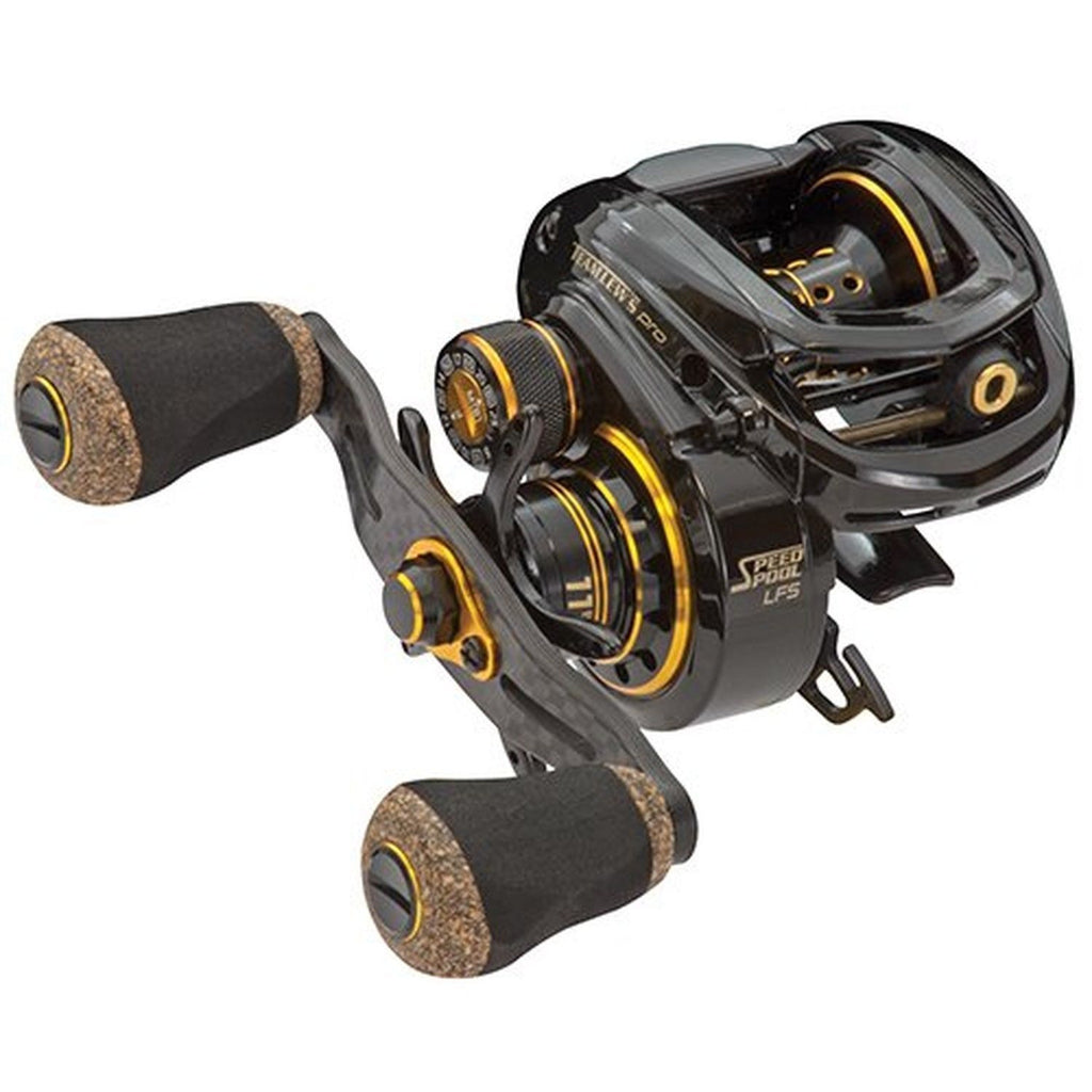 Lew's Team Pro Left Hand Magnesium Speed Spool ACB Low Profile Baitcasting Reel