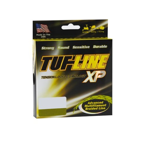 Tuf-Line XP 300-Yard Braided Fishing Line, 65lb Green