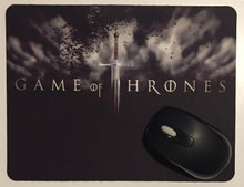 Game of thrones printed mouse pad.