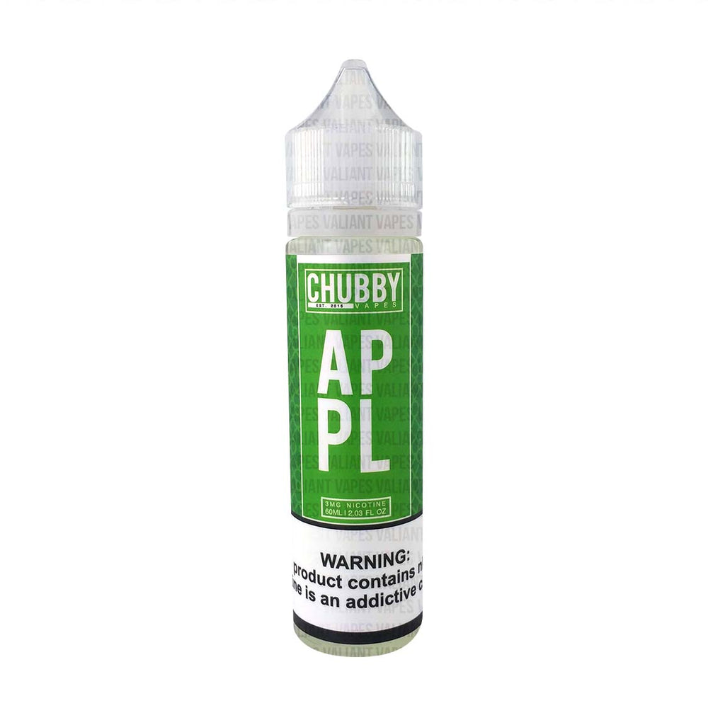 Apple by Chubby Bubble Vapes 60ml