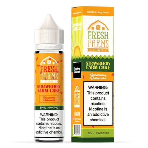 Strawberry Farm Cake by Fresh Farms E-Liquid 60ml