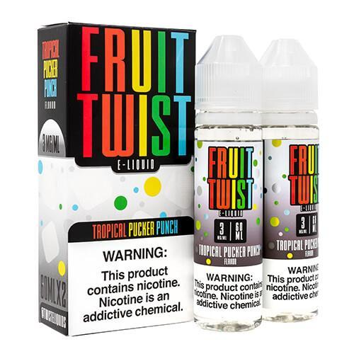 Tropical Pucker Punch by Fruit Twist E-Liquids 120ml