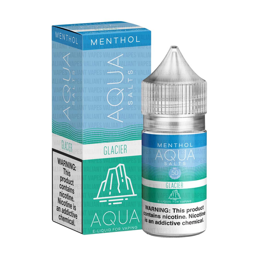 Glacier by AQUA Menthol Salts 30ml