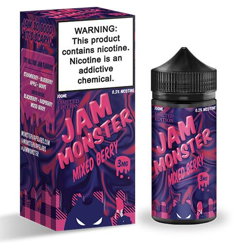 Mixed Berry by Jam Monster E-Liquid 100ml