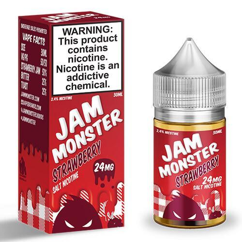 Strawberry by Jam Monster Salt 30ml