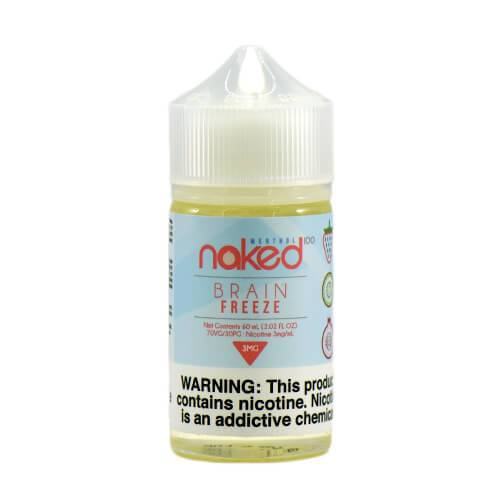 Strawberry Pom by Naked 100 Menthol E-Liquid 60ml - (Brain Freeze)