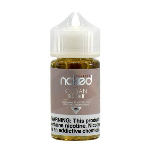 Cuban Blend by Naked 100 Tobacco E-Liquid 60ml