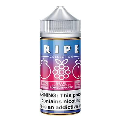 Blue Razzleberry Pomegranate by Vape 100 Ripe Collection 100ml